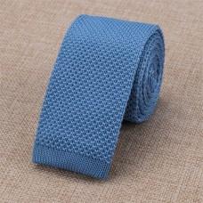 Gebreide stropdas lichtblauw