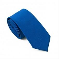 Skinny stropdas blauw