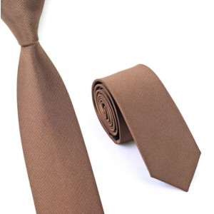 Skinny stropdas bruin