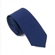 Skinny stropdas donkerblauw
