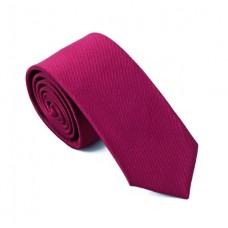 Skinny stropdas wijnrood
