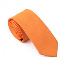 Skinny stropdas oranje