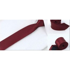 Skinny tie Red Wine