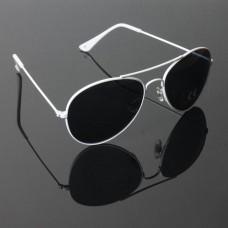 Pilotenbril wit