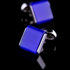 Manchetknopen Koningsblauw