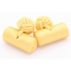 Bachelor barrels manchetknopen - geel