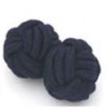 Bachelor knots manchetknopen - donkerblauw