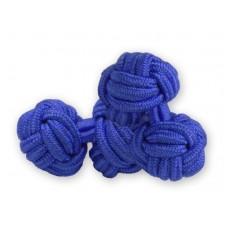 Bachelor knots manchetknopen - blauw