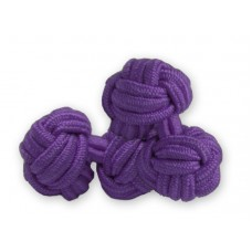 Bachelor knots manchetknopen - paars