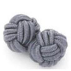 Bachelor knots manchetknopen - grijs