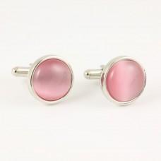 Manchetknopen Roze Opaal