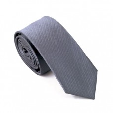 Skinny stropdas grijs