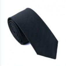 Skinny stropdas zwart