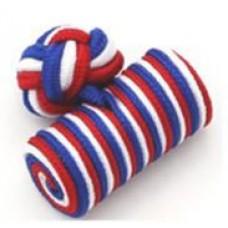 Bachelor barrels manchetknopen – rood-wit-blauw