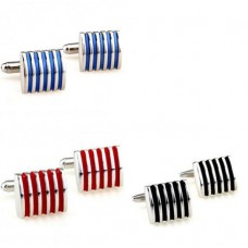 Manchetknopen Radiator Stripe